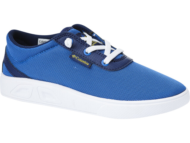 Columbia Spinner Chaussures Enfant, stormy blue/deep yellow